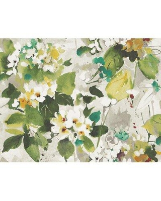 """Ophelia & Co. Tricia 27' L x 27"""" W Wallpaper Roll W002109063 Color: Teal/Hunter Green/Off White/Greige"""
