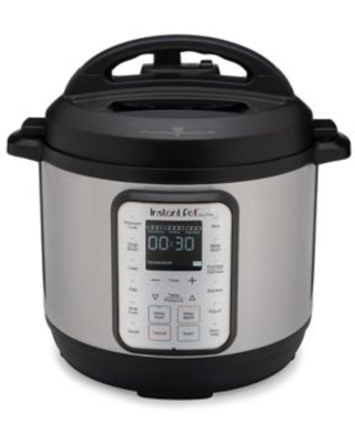 Instant Pot 9-In-1 Duo Plus 6 Qt. Programmable Electric Pressure Cooker Stainless Steel