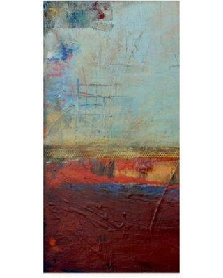 """East Urban Home 'Backstage 34 I' Acrylic Painting Print on Wrapped Canvas W000887644 Size: 47"""" H x 24"""" W x 2"""" D"""