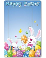 The Holiday Aisle Colusa Easter Magnet Picture Frame BF133464