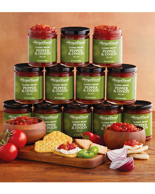 12 Pack Pepper And Onion Relish by Harry & David