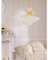 Sales On Mcallen 15 Light Unique Statement Empire Chandelier With Crystal Accents Mercer41 Finish Chrome Size 35 H X 31 W X 31 D