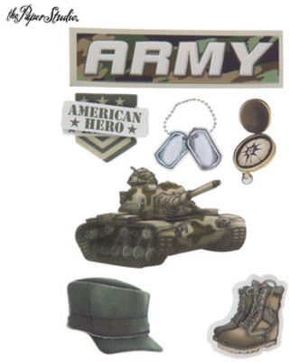 Check Out These Major Deals on Army 3D Stickers