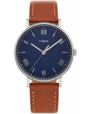 2cb76c447 Timex Women's Easy Reader Leather Watch - TW2R62900JT, Size: Small, Blue