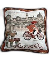 Tache Home Fashion Girls Day Outes Euro Pillow Cover 14003-1PC