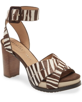 Naked Feet Ciro Sandal, Size 9 in White Leather at Nordstrom