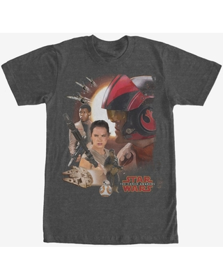 Star Wars Episode VII The Force Awakens Characters T-Shirt