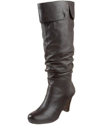 Naughty Monkey Women's Boots E Collins Boot,Chocolate,8.5 M US
