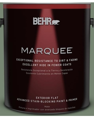 Great Prices For Behr Marquee 1 Gal 440f 5 Winter Hedge Flat Exterior Paint Primer