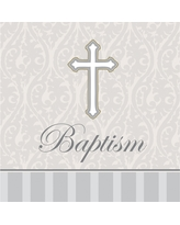 16ct Devotion Baptism Napkins