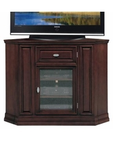 Leick Furniture Corner TV Stand, Brown