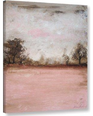 """Red Barrel Studio 'Pink Winter I' Graphic Art Print on Wrapped Canvas RDBL5196 Size: 18"""" H x 14"""" W x 2"""" D"""