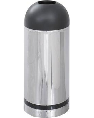 Safco Products Reflections Receptacle 15 Gallon Trash Can 9871