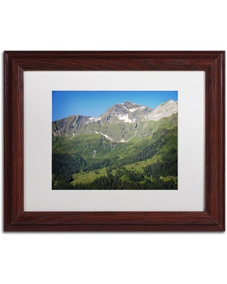 """Trademark Fine Art """"Perfect Day"""" Canvas Art by Philippe Sainte-Laudy, White Matte, Wood Frame"""