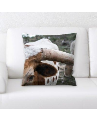 Latitude Run Kacey Animal Throw Pillow BF136037