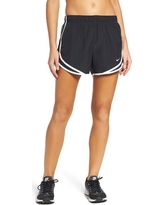 Women's Nike Dry Tempo Running Shorts, Size X-Large - Black