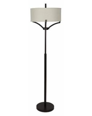 Decor Therapy Bronze Ledger 4 Arm Metal Floor Lamp, One Size , Brown