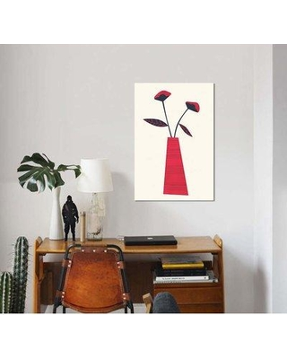 """East Urban Home 'LouLou' By Tracie Andrews Graphic Art Print on Wrapped Canvas ETRC6768 Size: 40"""" H x 26"""" W x 0.75"""" D"""