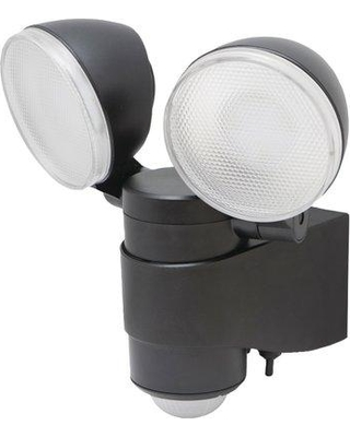 Symple Stuff Dual Head Battery Operated Outdoor Security Spotlight With Motion Sensor Sypl3983