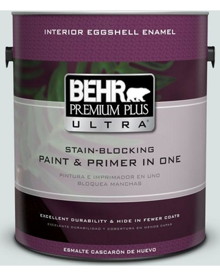 BEHR ULTRA 1 gal. #N440-1 Streetwise Eggshell Enamel Interior Paint and Primer in One