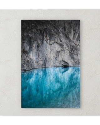 """Ebern Designs 'All Reflections' Photographic Print on Wrapped Canvas BF072064 Size: 40"""" H x 20"""" W x 2"""" D"""