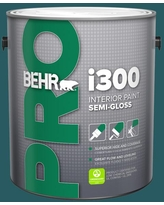 Can T Miss Deals On Behr Pro 5 Gal Ppf 56 Terrace Teal Semi Gloss Interior Paint