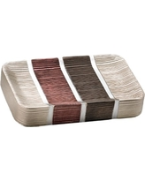 Popular Home The Modern Line Collection Soap Dish, Burgundy