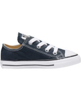 Converse Boys Converse All Star Low Top - Boys' Toddler Basketball Shoes Navy/White Size 04.0