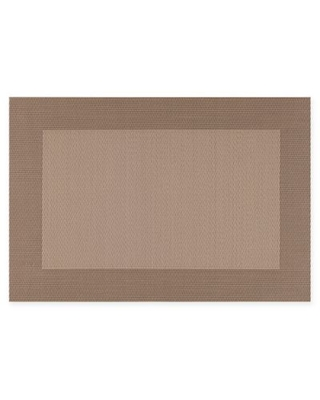 Kraftware™ EveryTable Thick Border Placemat in Taupe (Set of 12)