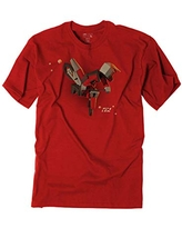 Factory Effex Unisex-Child FX Moto Kids Youth T-Shirt (Red, X-Large)