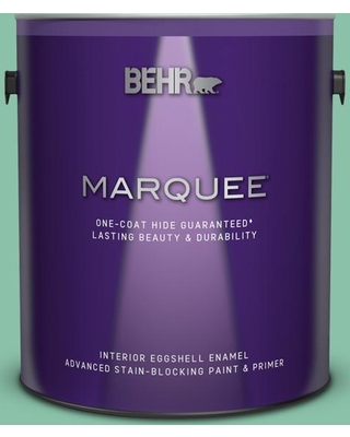 BEHR MARQUEE 1 gal. Home Decorators Collection #HDC-WR14-8 Spearmint Frosting Eggshell Enamel Interior Paint and Primer