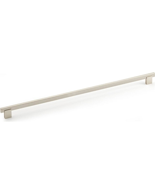 Richelieu Hardware 18-7/8 in. (480 mm) Center-to-Center Brushed Nickel Contemporary Drawer Pull