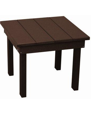 Rosecliff Heights Kramer Square End Table W001186083 Color: Tudor Brown