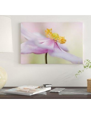 "East Urban Home 'Japanese Anemone' Graphic Art Print on Canvas FTCI7831 Size: 12"" H x 18"" W x 0.75"" D"