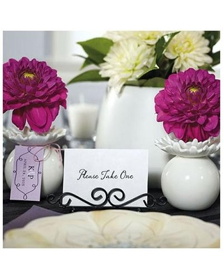 Mint Pantry® Wire Low Place Card Holder 0201 Color: Black