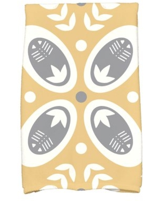 Rectangle Cotton Hand Towel Ivy Bronx Color: Gold