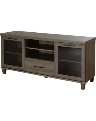 "South Shore Adrian 60"" TV Stand 4909662 Color: Gray Maple"