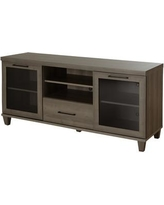 "South Shore Adrian 59.5"" TV Stand 4909662 Color: Gray Maple"