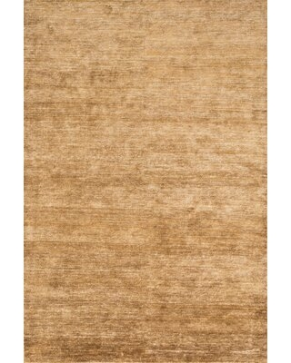 Shop Deals For Hively Hand Knotted Silk Amber Area Rug Winston Porter Rug Size Rectangle 8 6 X 11 6
