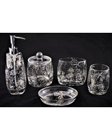 Nature Home Decor Antlers 5 Piece Bathroom Accessory Set 375-12349