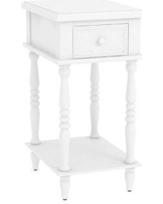 Alcott Hill Christopherso Accent End Table ALTH2262 Color: Off White