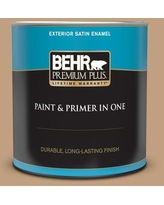 Savings On Behr Premium Plus 1 Qt Mq2 6 Gilded Glamour Satin Enamel Exterior Paint And Primer In One