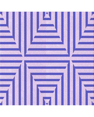 East Urban Home Abstract Wool Purple Area Rug X113615924 Rug Size: Square 4'