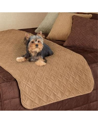 Mason Ultimate Bed Protector for Pets, Full / Queen, Camel
