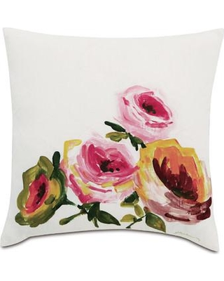 Eastern Accents Tresco Hand-Painted Linen Throw Pillow TRE-11