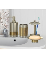 Darby Home Co Cailsey Brushed 4 Piece Bathroom Accessory Set DRBH4640