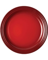 Le Creuset Dinner Plates, Set of 4, Cherry, 10 1/2""