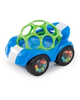 Oball Rattle & Roll Sports Car Easy Grasp Push Vehicle Toy, Ages 3 months +