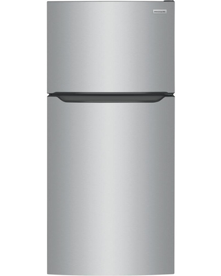 Frigidaire 18.3 cu. ft. Top Freezer Refrigerator in Stainless Steel, ENERGY STAR, Silver