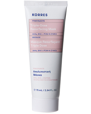 Korres Pomegranate Triple Dose Resurfacing Mask in Beauty: NA.